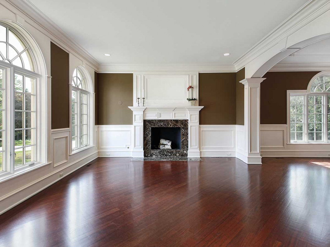 How should you prepare for wood floor refinishing service?